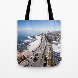 Sea Point in Cape Town, South Africa Tote Bag