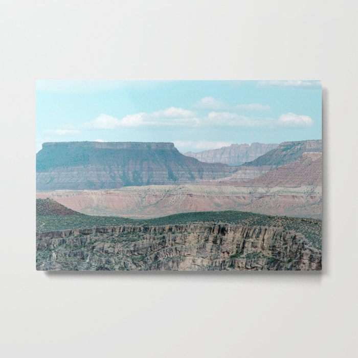 Within the Temple of Mountains (Utah) Metal Print