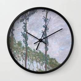 Wind Effect, Series of The Poplars Wall Clock