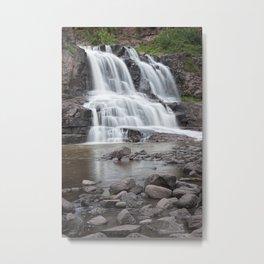 Lower Gooseberry Falls in Minnesota Metal Print