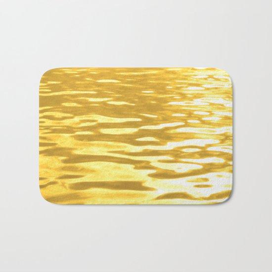 Liquid Gold Bath Mat