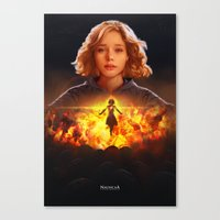 nausicaa Canvas Prints featuring NausicaA by ImmarArt