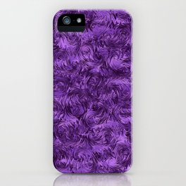 Marbled Paisley - Purple iPhone Case