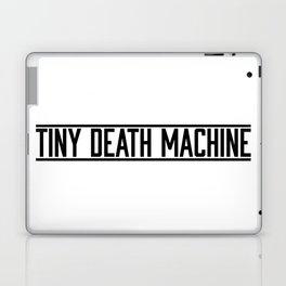 TINY DEATH MACHINE (logo black) Laptop & iPad Skin