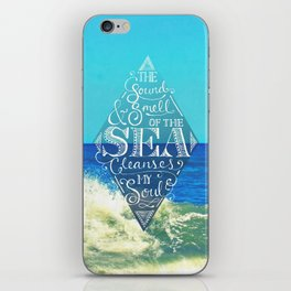 Sound and Smell of the Sea iPhone Skin