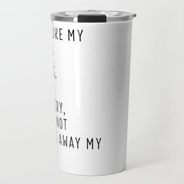 Young, Scrappy & Hungry Simple Travel Mug