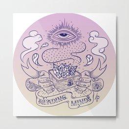 Reading minds / Mielofon Metal Print