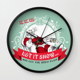 Tis the season to be Jolly Wall Clock