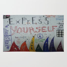 Express Yourself Rug
