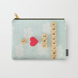 I Heart The Universe Carry-All Pouch