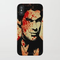dexter iPhone & iPod Cases featuring Dexter by 2b2dornot2b
