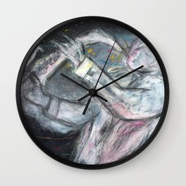Jazz Player Wall Clock