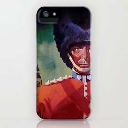 London Guard iPhone Case