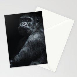 Big boss gorilla Stationery Cards