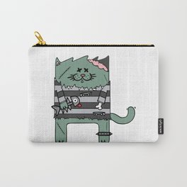 Zombie cat Carry-All Pouch
