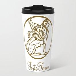 ForteFemme logo Sphinx Travel Mug