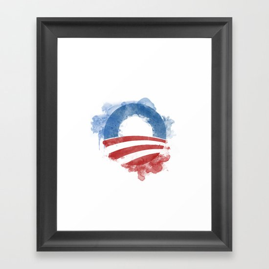 Artists for Obama Framed Art Print