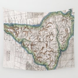 Vintage Map of South America (1780) Wall Tapestry