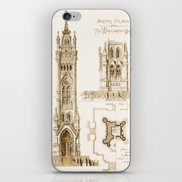 Design Proposal for the Washington Monument, Washington D.C. iPhone Skin