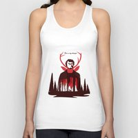 hannibal Tank Tops featuring Hannibal by Risa Rodil