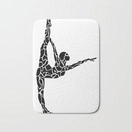 Yoga Pose Bath Mat