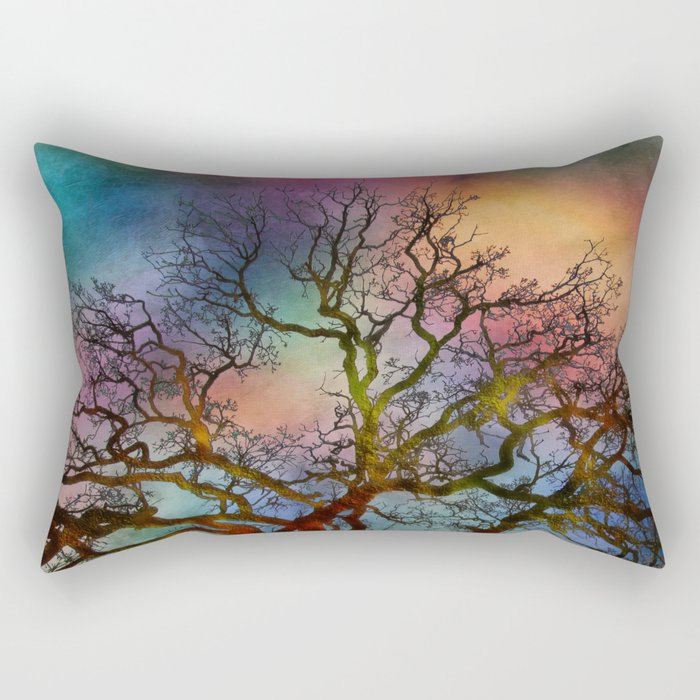Last Moments Before Darkness Rectangular Pillow