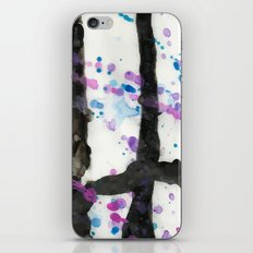 Throwing Colors iPhone & iPod Skin