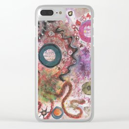 Deep Sea Diver Clear iPhone Case