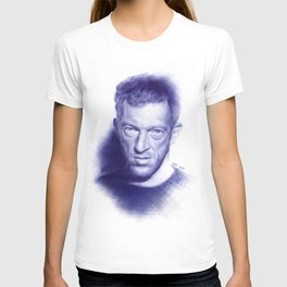 Vincent Cassel on ballpen T-shirt