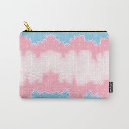 Trans Pride Flag Galaxy Carry-All Pouch