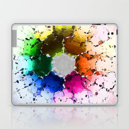 Abstract Color Wheel Laptop & iPad Skin