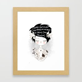 Gracious Gifts Framed Art Print