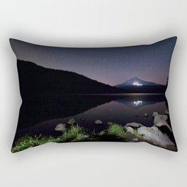 A Trillium Night Rectangular Pillow