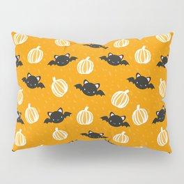 Halloween Bats and Pumpkins Pillow Sham