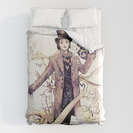 Willy Wonka and his chocolate factory Comforters