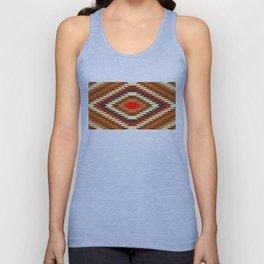 american native traditional ethnic costume motif seamless pattern Unisex Tank Top
