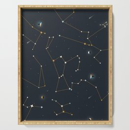 Orion and the Pleiades Serving Tray