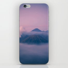 Dawn At Mount Bromo iPhone Skin