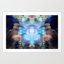 INnerSpacePilgrimage Art Print