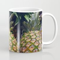 pineapples Mugs featuring Pineapples by UMe Images