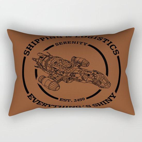 SERENITY SHIPPING AND LOGISTICS Rectangular Pillow