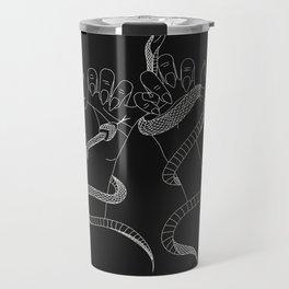 You and I - Snake Illustration Travel Mug