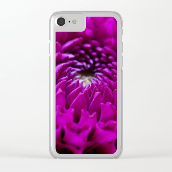 Pink Dahlia #1 #art #society6 Clear iPhone Case