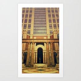 500 boylston Art Print