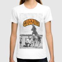 godzilla T-shirts featuring godzilla  by sr casetin
