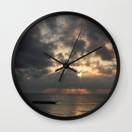 Jambiani Sunrise Wall Clock