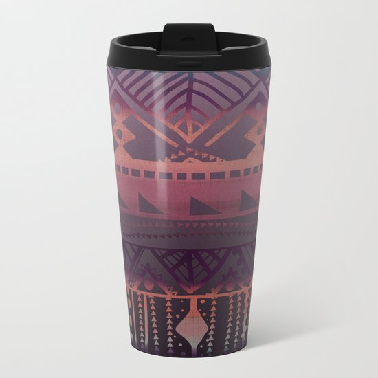 Tribal Paradise Metal Travel Mug