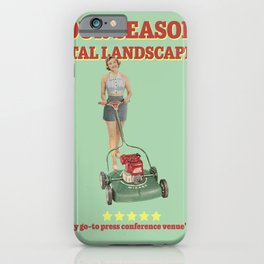 Four Seasons Total Landscaping iPhone Case