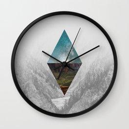 The World Above & Below Wall Clock