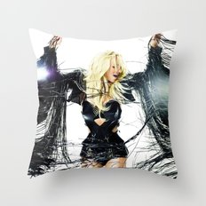 Britney Body Ache Throw Pillow